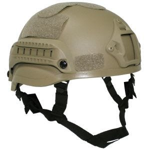 Casco MFH US MICH 2002 en Coyote