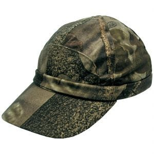 Gorra MFH Hunter con tira fluorescente en Hunter Marrón