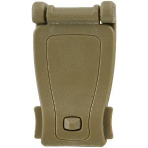 Adaptador de clip para sistemas MOLLE MFH de plástico en Coyote Tan