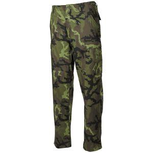 Pantalones MFH BDU Combat de Ripstop en Czech Woodland