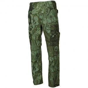 Pantalones MFH BDU Combat de Ripstop en Hunter Verde