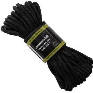Cuerda MFH de 7mm de grosor en negro