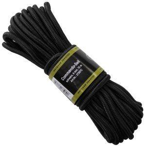 Cuerda MFH de 9mm de grosor en negro
