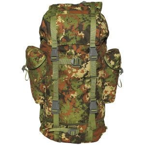 Mochila MFH German Army de 65 L en Vegetato Woodland