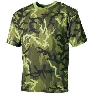 Camiseta MFH en Czech Woodland