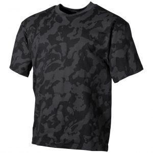Camiseta MFH en Night Camo