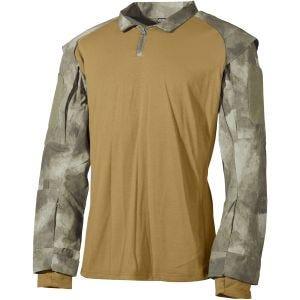 Camisa táctica MFH US en HDT Camo AU