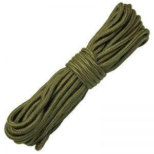 Cuerda Mil-Com Purlon de 9 mm en verde oliva