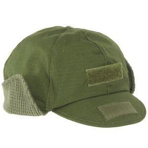 Gorro de invierno Mil-Tec BW Gen II en verde oliva