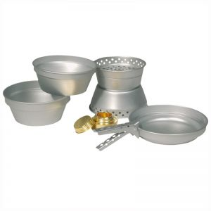 Set para cocinar Mil-Tec hecho de aluminio