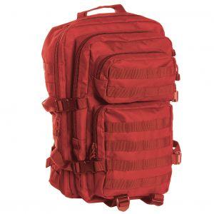 Mochila de asalto con sistema MOLLE Mil-Tec US de tamaño grande en rojo