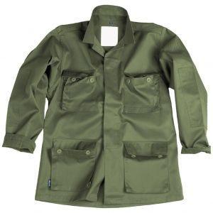 Camisa de combate Mil-Tec BDU en verde oliva