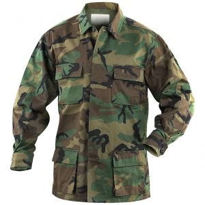 Camisa de combate Mil-Tec BDU en Woodland