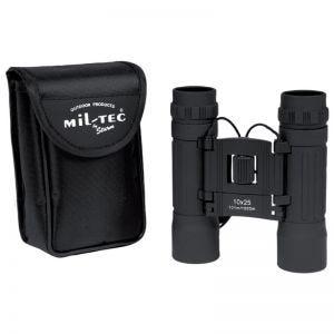 Prismáticos ajustables Mil-Tec 10x25 en negro