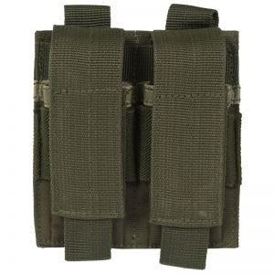Portacargador doble de pistola Mil-Tec en verde oliva