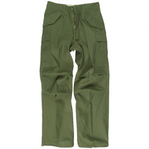 Pantalones Mil-Tec M65 en verde oliva