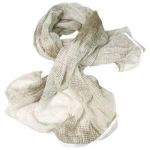 Bufanda de red Mil-Tec en blanco