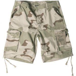 Pantalones cortos estilo cargo de paracaidista militar Mil-Tec en Desert 3 Colores