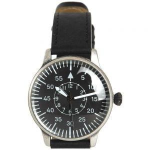 Reloj de piloto con esfera negra Mil-Tec de estilo retro