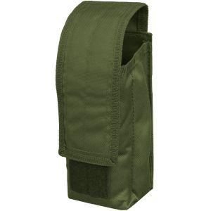 Portacargador individual Mil-Tec AK47 con sistema MOLLE en verde oliva