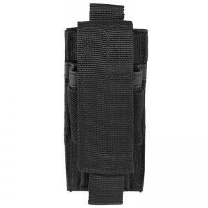 Portacargador individual de pistola Mil-Tec en negro