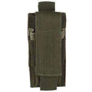 Portacargador individual de pistola Mil-Tec en verde oliva