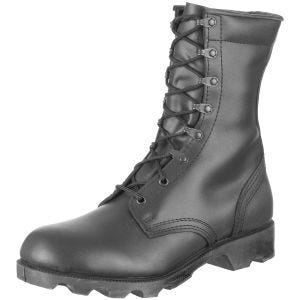 Speed Lace Combat Boots Black