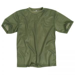 Camiseta de malla Mil-Tec en verde oliva