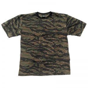 Camiseta Mil-Tec en Tiger Stripe