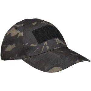 Gorra de béisbol táctica Mil-Tec en Multitarn Black