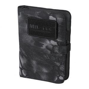 Cuaderno táctico con funda Mil-Tec de tamaño pequeño en Mandra Night