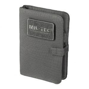 Cuaderno táctico con funda Mil-Tec de tamaño pequeño en Urban Grey