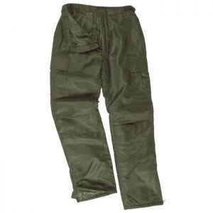 Pantalones térmicos Mil-Tec Us MA1 en verde oliva