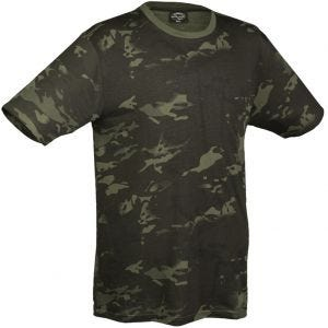 Camiseta Mil-Tec en Multitarn Black
