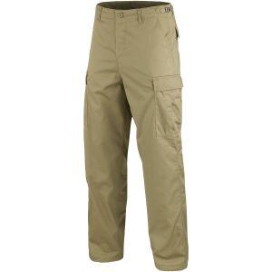 Pantalones Mil-Tec BDU Ranger Combat en caqui