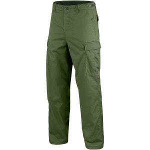 Pantalones Mil-Tec BDU Ranger Combat en verde oliva
