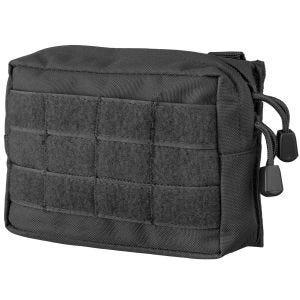 Bolsa para cinturón Mil-Tec compatible con sistemas MOLLE pequeña en negro