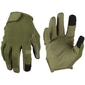 Guantes Mil-Tec Combat para pantalla táctil en verde oliva