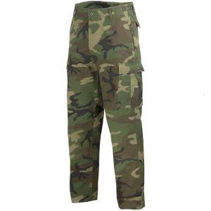 Pantalones Mil-Tec BDU Ranger Combat en Woodland
