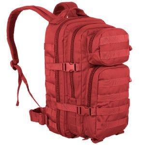 Mochila de asalto con sistema MOLLE Mil-Tec US de tamaño pequeño en rojo