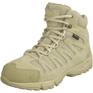 Botas de senderismo Pentagon Achilles de 15,2 cm de caña en Desert Tan