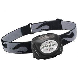 Linterna frontal Princeton Tec Quad con carcasa en negro