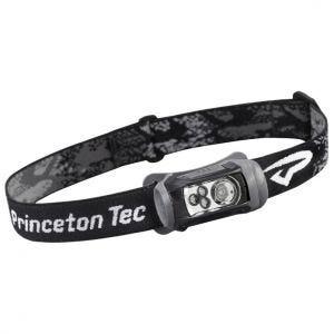 Linterna frontal Princeton Tec Remix con luces LED rojas y blancas con carcasa en negro