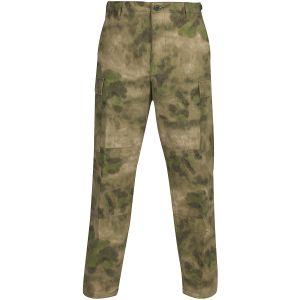 Pantalones de Ripstop de polialgodón Propper BDU con bragueta abotonada en A-TACS FG
