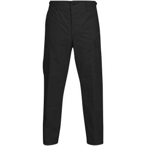 Pantalones de Ripstop de polialgodón Propper BDU con bragueta abotonada en negro