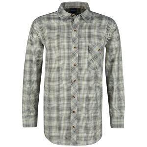 Camisa abotonada de manga larga Propper Covert en Loden Green Plaid