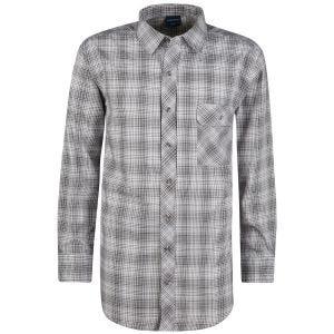 Camisa abotonada de manga larga Propper Covert en Steel Grey Plaid