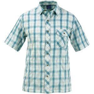 Camisa abotonada de manga corta Propper Covert en Mallard Plaid