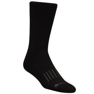 Calcetines altos de lana Propper en negro