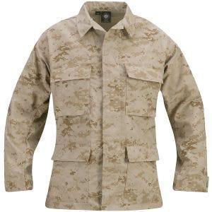 Chaqueta de uniforme de Ripstop de polialgodón Propper BDU en Digital Desert